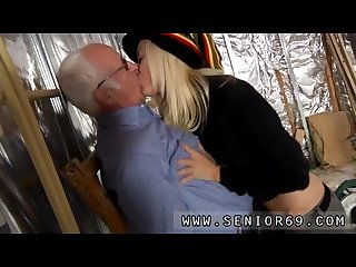 Mature old homemade first time Gorgeous ash-blonde Tina is highly busy at