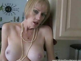 Milf negotiates with her plumber