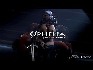 Ophelia orc tamer pmv works by onagi
