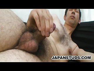 Kouhei meguro hairy japanese daddy lonely and jerking