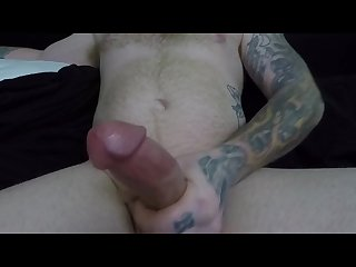 Masturbating for the neighbor girl while the wife is out of town