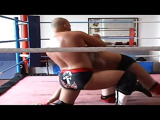 Bad bones vs jlc hot german vs british gay Wrestling match