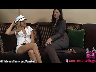 Girlfriendsfilms india summer S intern eats her pussy