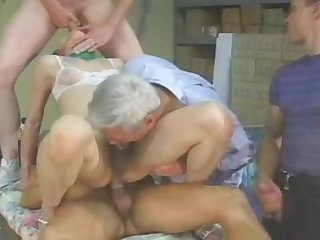 Chinese shemale fucked sucked jizzed by 4sum