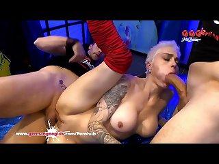 German goo girls mila milan in the sperm arena