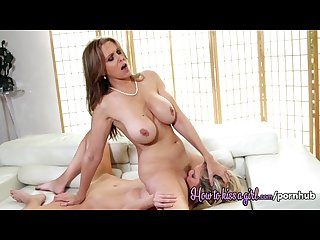 Julia ann and scarlet red
