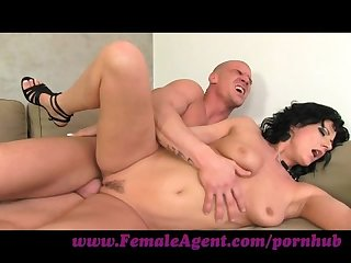 Femaleagent very horny and orgasms heavy casting