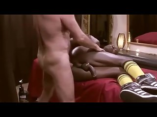 Homemade massage and fucking between men