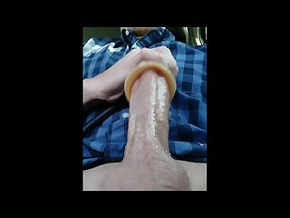 Sex machine making cum fly out like a blender part 1