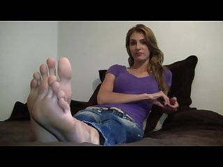 Supermodel meagan size 12 feet long toes foot fetish interview
