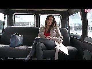 Hot milf sensual jane gets fucked in a van