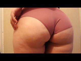 Trying on my cute panties