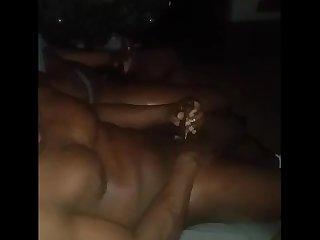 Black men cum together