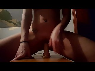 Milf gets Quickie with favorite dildo