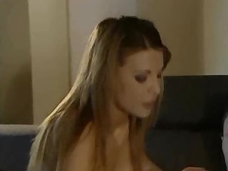 Beautifull brunette ass fucked on the couch