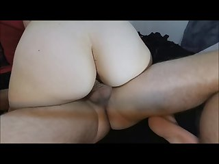 Creampie inside married step sister get her pregnant while husband gone