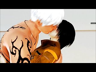 Mikasa takes care of a titan cock (Honey Select: Attack on Titan)
