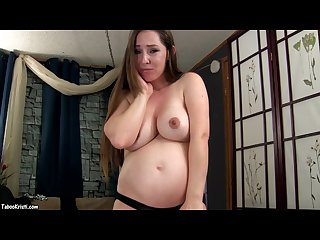 Preggo mommy pornstar fucks son s big cock taboo pregnant mom kristi