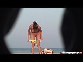 Beach Voyeur HD Video Spycam Nudists