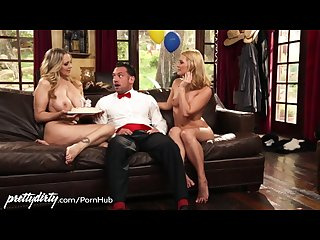 Ffm birthday 3some with mom julia ann
