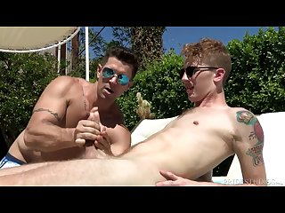 Dylanlucas hot voyeur hits on twink neighbour
