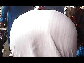 Arab mature street voyeur 2 mature big butt chubby plumper ass