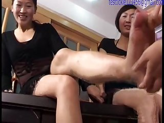 Chinese beauty Tickling torture part 1 of 3