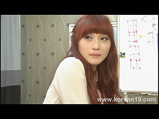 Uncensored Korean Fuck Fap Challenge with Redhead Secretary Casting
