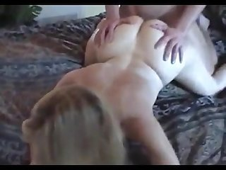 Husband lets me try big young cock