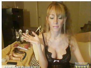 Megan foxx smoking solo on cam