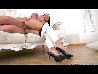 Anal a latina Culona sexy en tacones