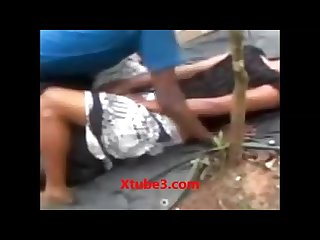 Indian desi college girl getting fucked in jungle