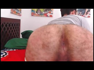 Sexy cam str8 boy shows off his pink hole for me