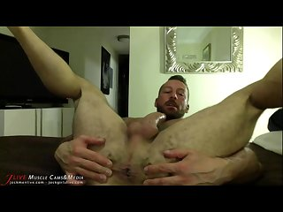 Hugh hunter S hairy muscle ass at jockmenlive com