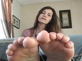 Mature foot joi