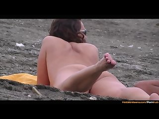 Nude Beach Girls Voyeur Spy HD Video