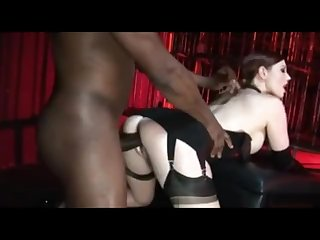 DECADENT DIVAS - Horny slutty whores in black stockings cocks hungry