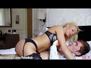 Daringsex sensual milf dicked by her lover