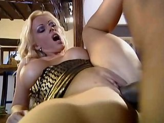 German babe Kelly trump gets fucked by a black guy