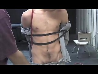 Guy bound and molested