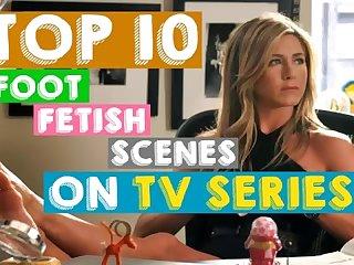 Top 10 famous foot fetish tv series scenes