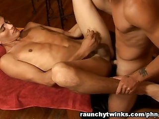 Laurent and antoine skinny twinks have dirty anal sex