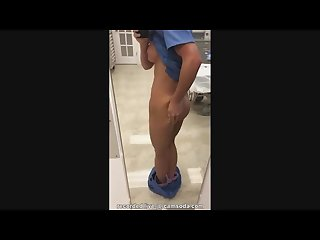 Nurse masturbating in the Hospital