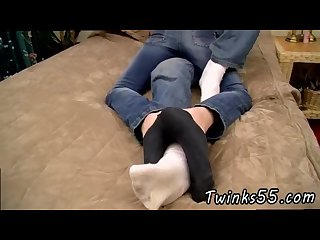 Straight teen fucks gay twink and sucks feet a wild foot loving fuck