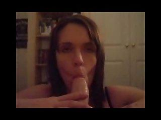 Blowjob in the masturbation room