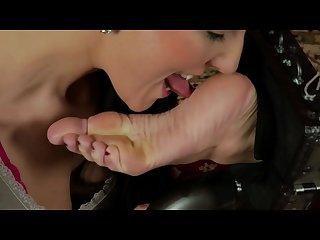 Lesbian bound feet