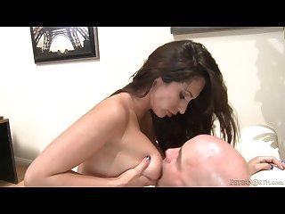 Reena sky stunning babe riding cock