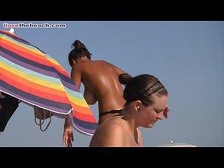 Beach tits