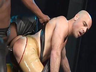 Black master nails white slave