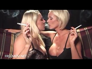 Dannii harwood and lucy zara smoking